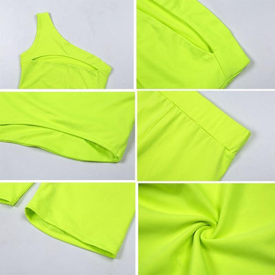 Woman's Women's Sets Duo Neon Sports Set at $35.00