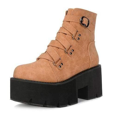 Woman's Ankle Boots Emma High Boots at $69.99
