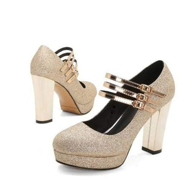 Woman's Women's Pumps Gamila High Heels at $75.00