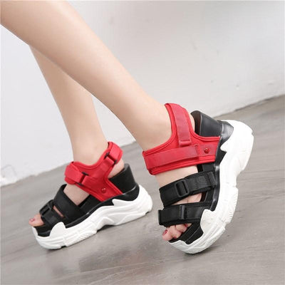 Woman's Platform Sandals Inna Sandals at $55.00
