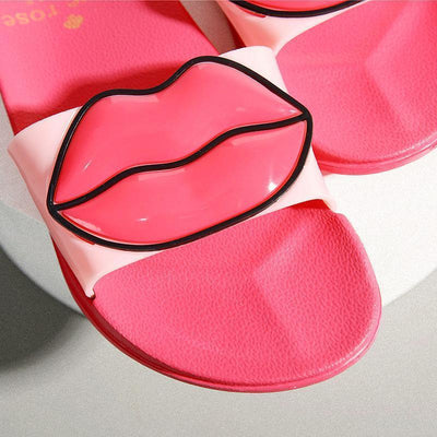 Woman's Slides Kiss Slippers at $24.99