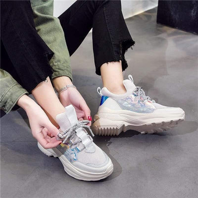Woman's Sneakers Kiss Sneakers at $65.00