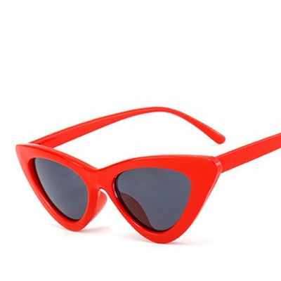 Woman's Tiny Sunglasses Kitten Slim Sunglasses at $20.96