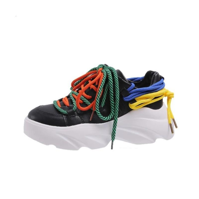 Woman's Sneakers Lace Sneakers at $67.00