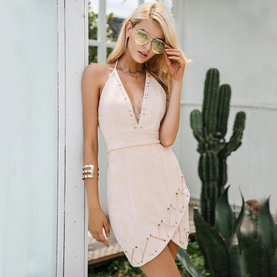 Woman's Dresses Lace Sundress at $69.00