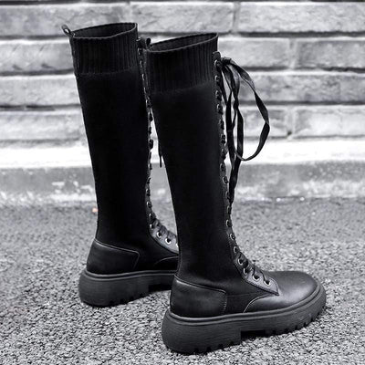 Woman's Knee-High Boots Manila Boots at $69.00