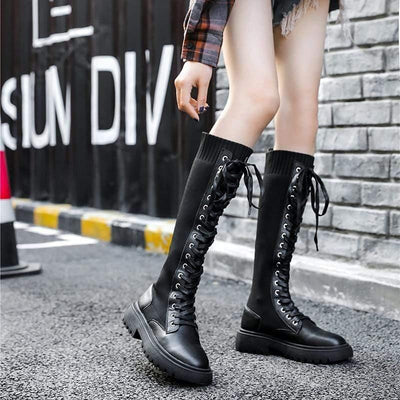 Woman's Knee-High Boots Manila Boots at $69.99