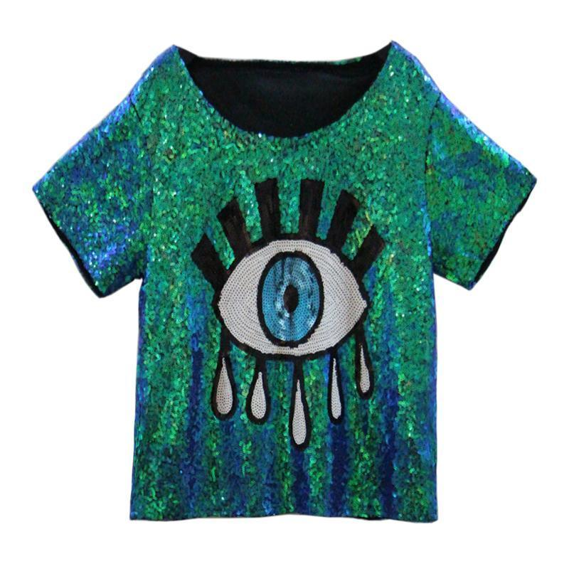 Woman's SHIRT Me, Myself, & EYE Tee at $35.00
