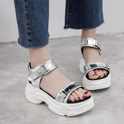 Woman's Sandals Mirror Sandals at $55.00