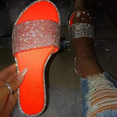 Woman's Slippers Missy Bling Slippers at $54.00
