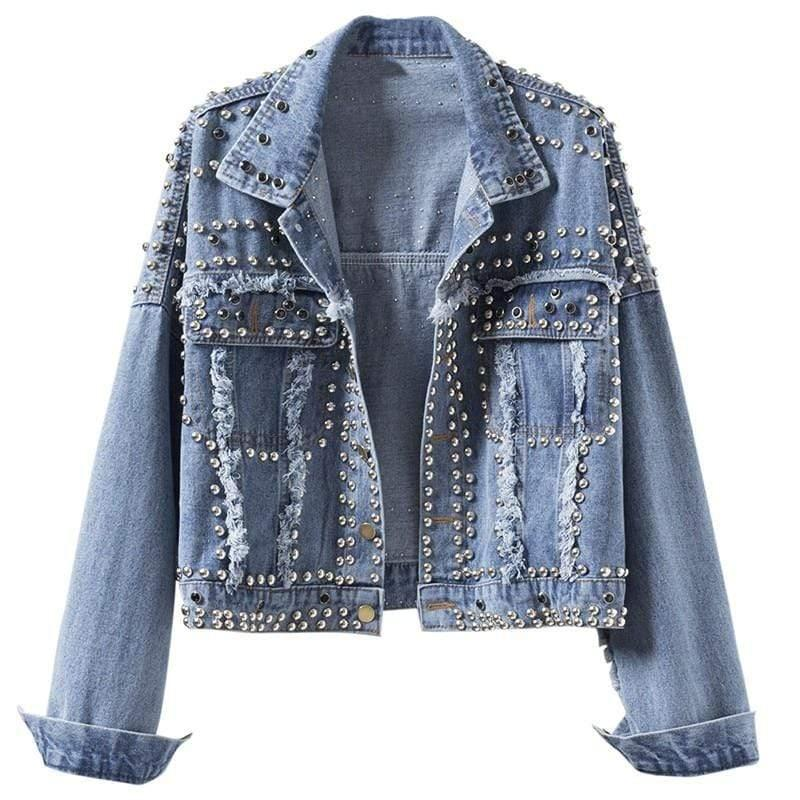 Woman's Jackets Perlo Denim Jacket at $67.99