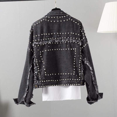 Woman's Jackets Perlo Denim Jacket at $67.00