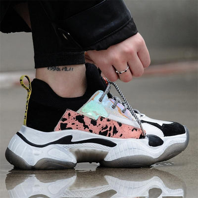 Woman's Platform Sneakers Princie Sneakers at $99.99