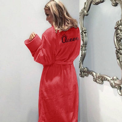 Woman's Bath Robe Queen Bath Robe at $54.00