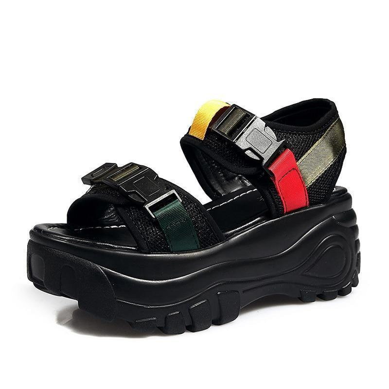 Woman's Platform Sandals Rampa Sandals at $55.00