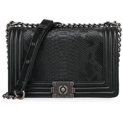 BASSO Royal Croco Bag