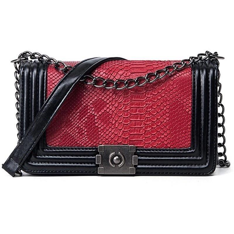 Woman's Shoulder Bag Royal Croco Bag at $49.95