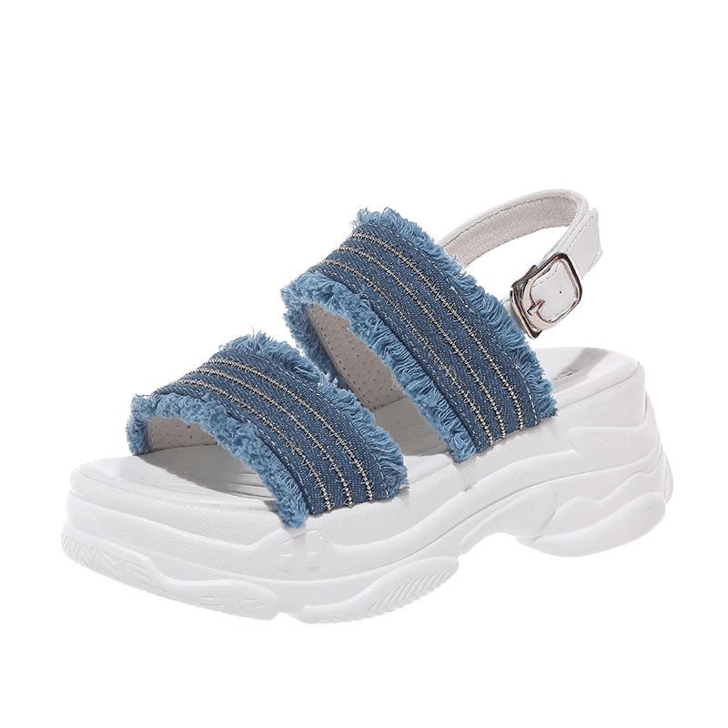 BASSO Rumba Denim Sandals
