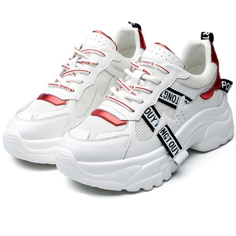 Woman's Platform Sneakers Russie V2 Sneakers at $69.00