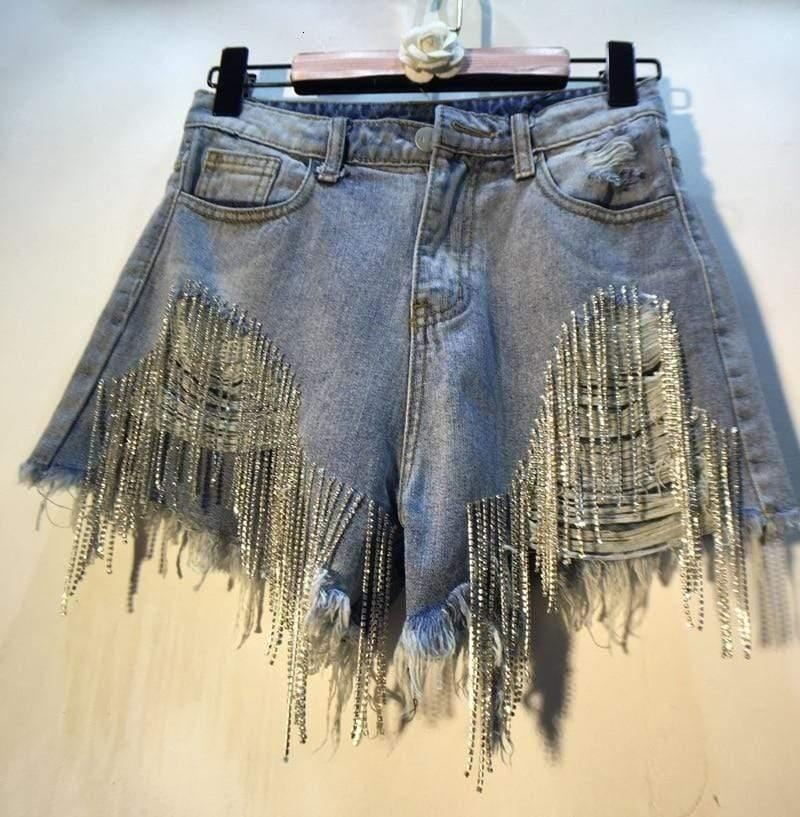Woman's Shorts Sahara Denim Shorts at $49.00