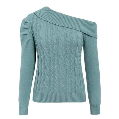 BASSO Sexy Shoulder Sweater