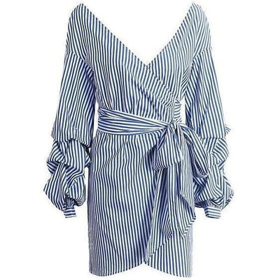 BASSO Sexy Stripe Dress