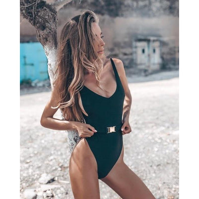 BASSO Strap Swimsuit