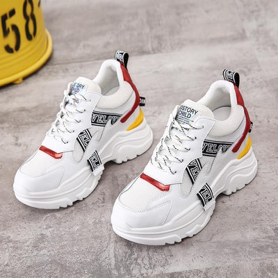 Woman's Platform Sneakers Trend Sneakers at $89.00
