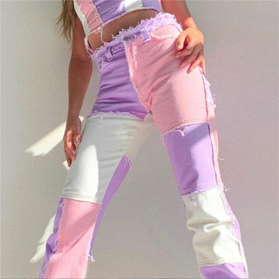 Woman's Pants Wicked Patchy Jeans at $47.00