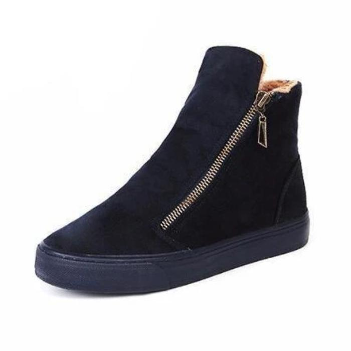 Woman's Ankle Boots Winter Woolen Booties at $65.00