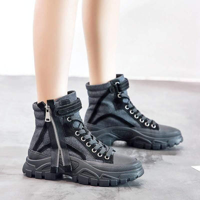 Woman's Boots Zipper Boots at $59.99