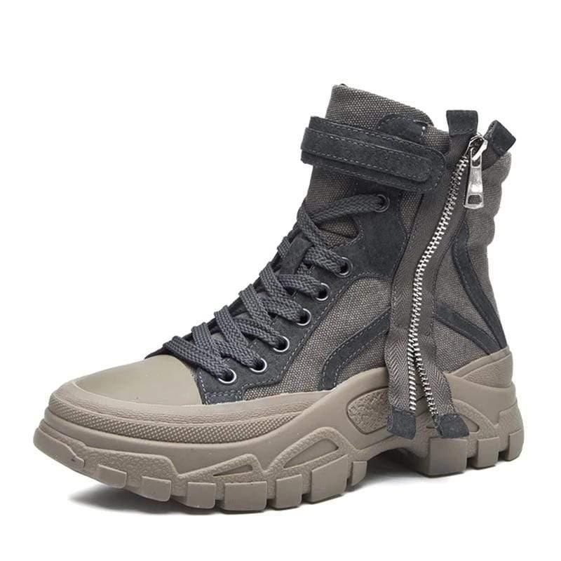 Woman's Boots Zipper Boots at $59.00
