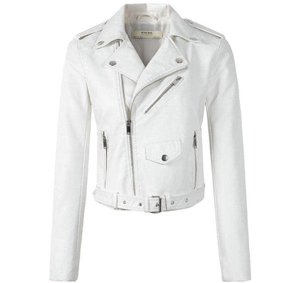 Woman's Leather Jackets Bella Leather Jacket at $71.00