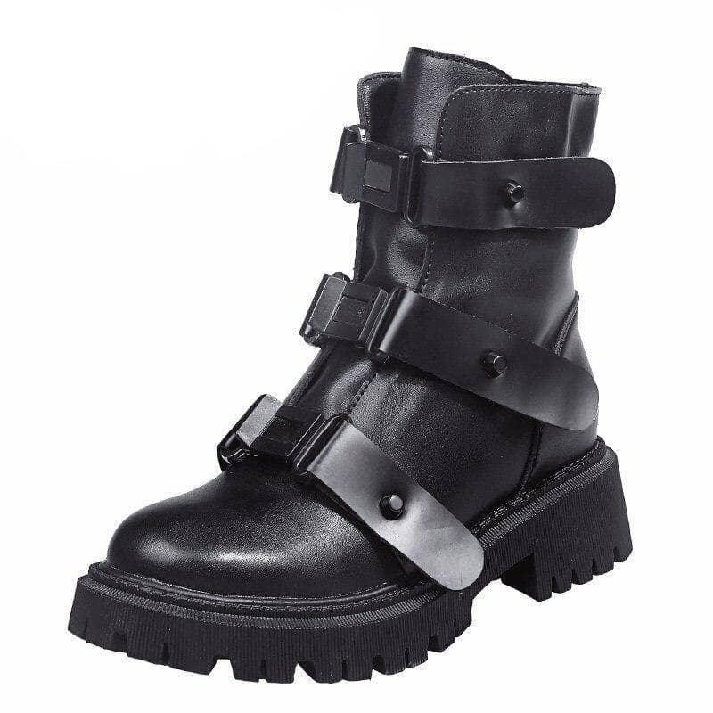 Woman's Boots Colette Buckle Boots at $74.99