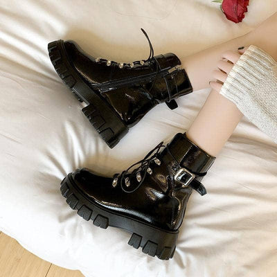Ember Buckle Boots