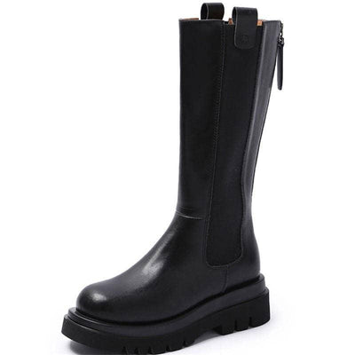 Woman's Boots Nixon Leather Boots at $89.00