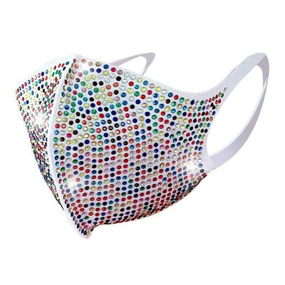 Woman's Face Mask Shino Rhinestone Face Mask at $15.00