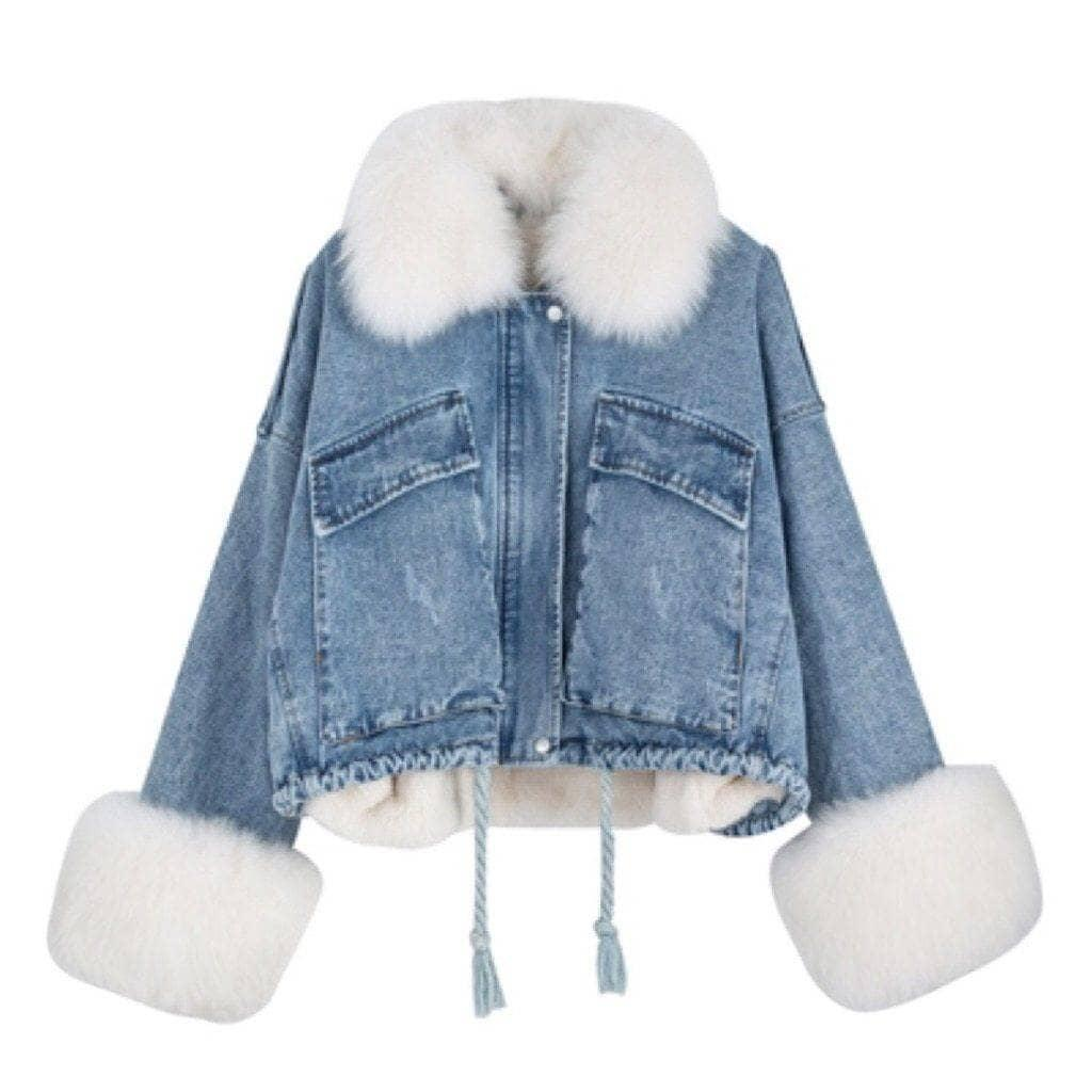 Woman's Jacket Vancouver Fur Jacket at $94.99