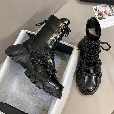 Woman's Ankle Boots Venom Lace Boots at $80.99