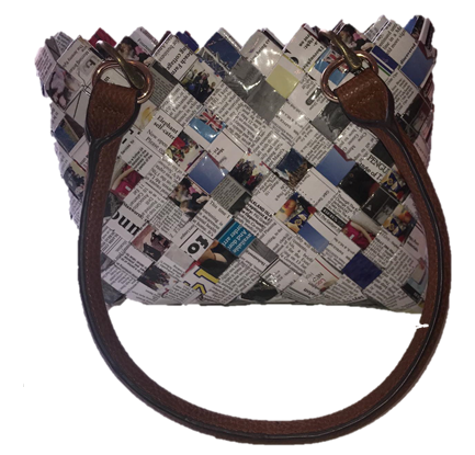 Uniqe Handbags- With handles