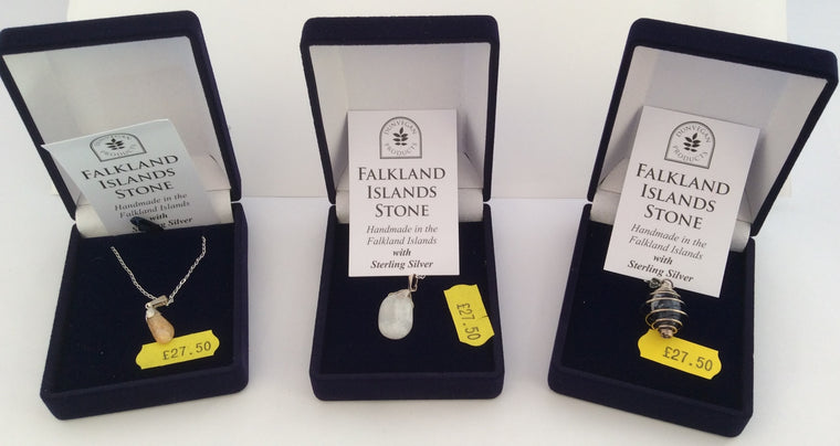 Necklaces - Falkland Island Pebbles