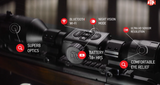 ATN X-Sight 4K Pro 5-20x Day/Night Vision Rifle Scope