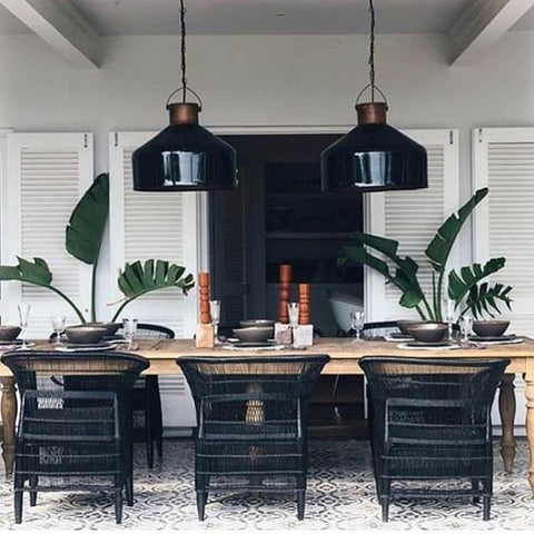 oversized pendants interiors malawi chair trends vavoom black