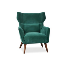 alexa green velvet armchair greenery trend vavoom interiors pantone colour of the year