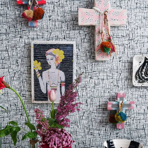interior design hack trend wallart ahoy trader ahoytrader vavoom jai crosses crucifix ceramic