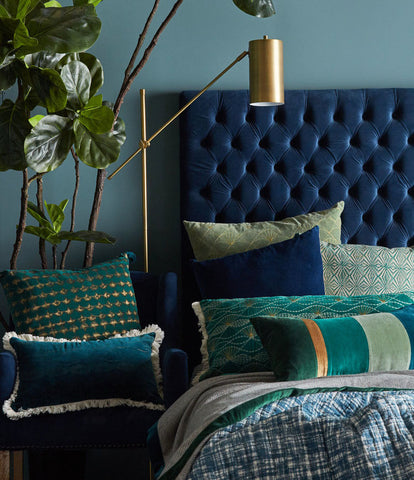 bedroom dark velvet trend master bedroom vavoom kip and co green navy