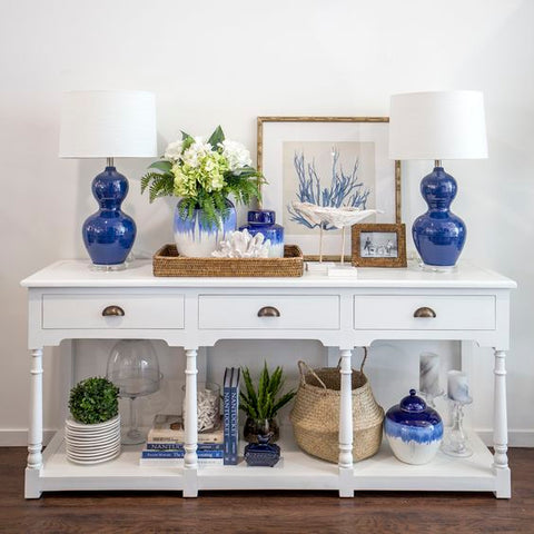 vavoom accessories blue console louvre farmhouse coastal hamptons trends vavoom