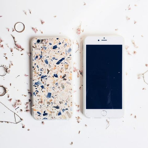 iphone case interiors blog trend terrazzo inspiration vavoom