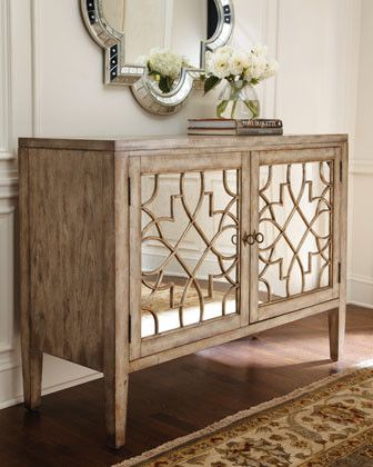 mirrored furniture lattice interiors hamptons coastal farmhouse trend vavoom