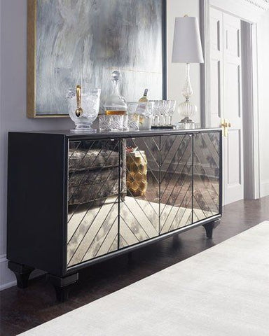 mirrored furniture sideboard trendy on trend vavoom interiors design
